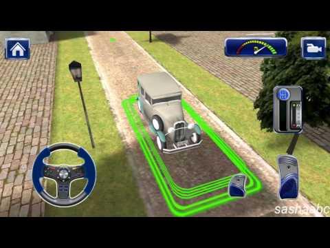 classic car parking simulator обзор игры андроид game rewiew android//