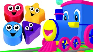 """Shapes Songs"" Kids Compilation 