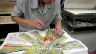 Niek & Zorka Zwartjes: a Sample of Kilncasting with Bullseye Glass