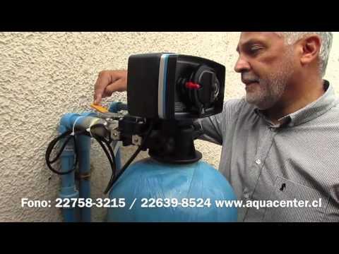 Como operar su ablandador de agua domiciliario (Aquacenter)