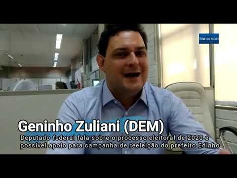 Deputado Geninho fala sobre sobre processo eleitoral 2020 e possível apoio à Edinho Araújo