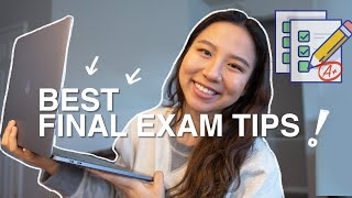 best exam study tips, cramming and last minute study tips for A's | vlogmas day 3