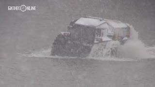 МЧС РТ впервые применили болотоход Sherp для эвакуации пострадавших