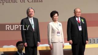 Hong Kong: Beijing favourite Carrie Lam elected as first female chief executive