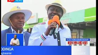 NASA woos Kajiado : Raila Odinga leads NASA brigade in Kajiado