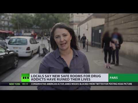Space for drugs in Paris: Locals say new safe rooms for drugs addicts have ruined their lives