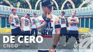 DE CERO By CNCO | Zumba | Reggaeton | TML Crew Kramer Pastrana