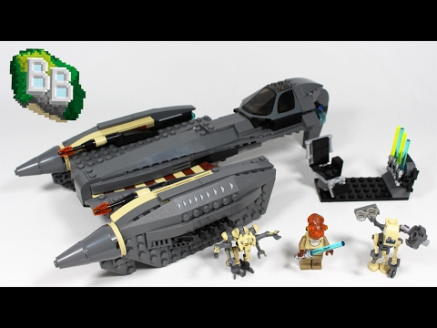 Vidéo LEGO Star Wars 8095 : General Grievous' Starfighter