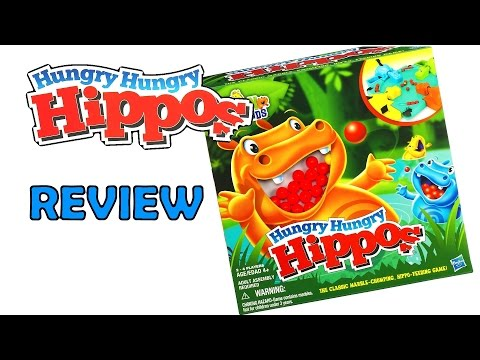 Hungry Hungry Hippo 2012 Version Review