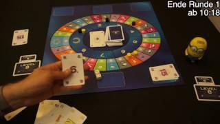 Level 8 - Das Brettspiel (Ravensburger 2016) - Rezension, Let's Play und Fazit -