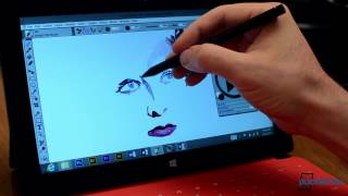 Surface Pro with Wacom WinTab Drivers makes Photoshop, Painter, Illustrator, etc. Excellent