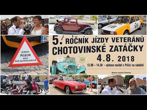 Zastávka auto moto veteránů na Vítkově náměstí v Prčici