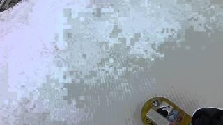 スバルゲレンデタクシーサッポロテイネ暖冬気温9℃雪溶ける~