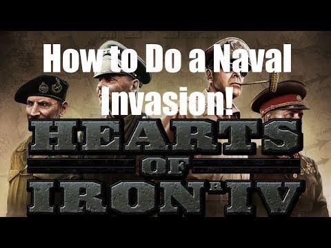 HOI4 Patch 1 6 Tutorial: Naval Invasion Support - смотреть онлайн на