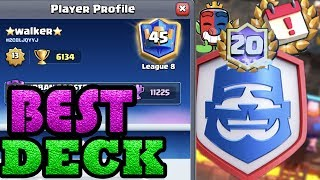 ⭐️Walker⭐️ The first one achieved 20 wins  Clash Royale  League - Clash Royale