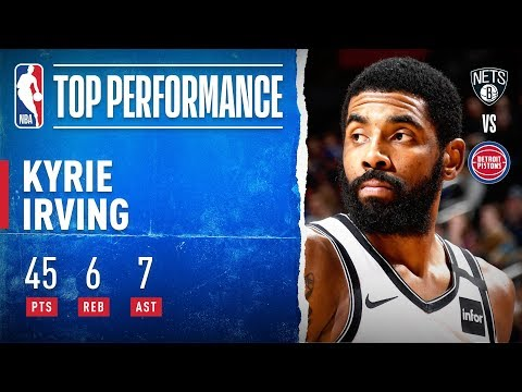 Kyrie SHOWS OUT In Detroit!