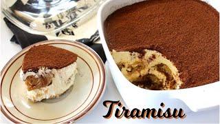 Tiramisu   Easy No Bake Dessert   Classic Italian Dessert Recipe