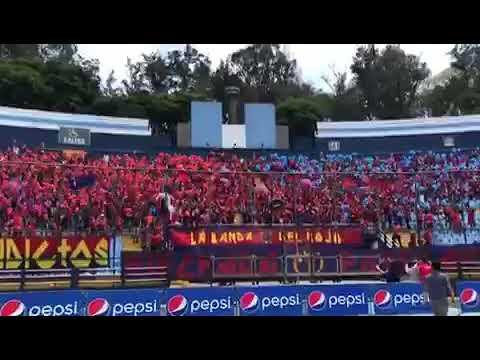 """""""La Banda Del Rojo - Clásico"""" Barra: La Banda del Rojo • Club: Municipal"""