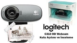 Logitech C310 Webcam Kutu Açma Ve İnceleme
