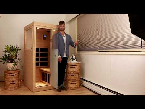 Smallest most therapeutic Infrared Sauna - healthhacksreviewed.com