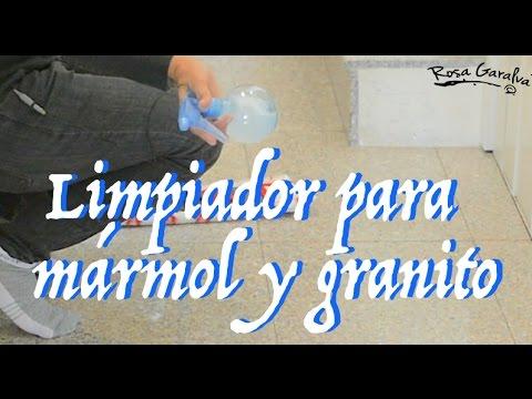 Limpiador para suelos de mármol y granito