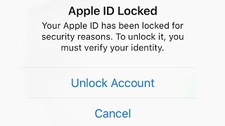 How to Unlock  Apple ID Locked For Security Reasons  Without Email New Way