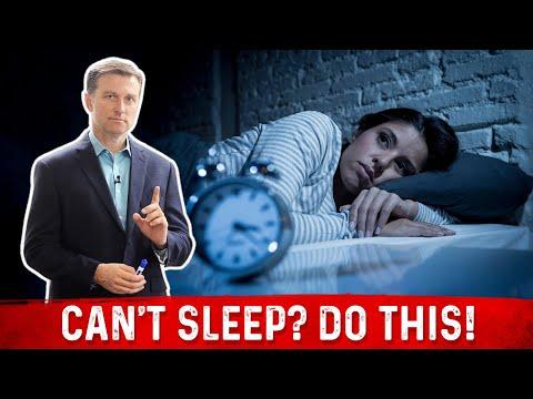 Can't Sleep? DO THIS!