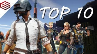 Top 10 Best and Popular Open World Battle Royale Games for Mobile 2018