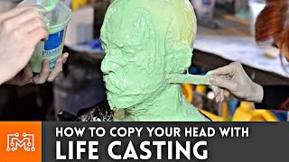 How to life cast (make a mold of your head) | I Like To Make Stuff
