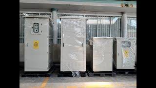 Tủ Điện Hạ Thế ACB (2300Hx900Wx1000D) 3P 1600A Mitsubishi, LS Solar