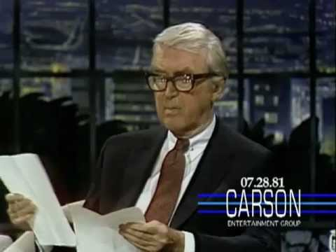 James Stewart and Johnny Carson are brought to tears by Stewart's poem for his beloved dog Beau (1981)