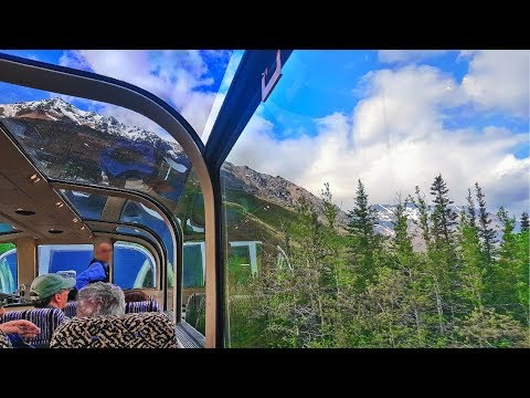 Glass-domed Train from Talkeetna to Denali, Alaska
