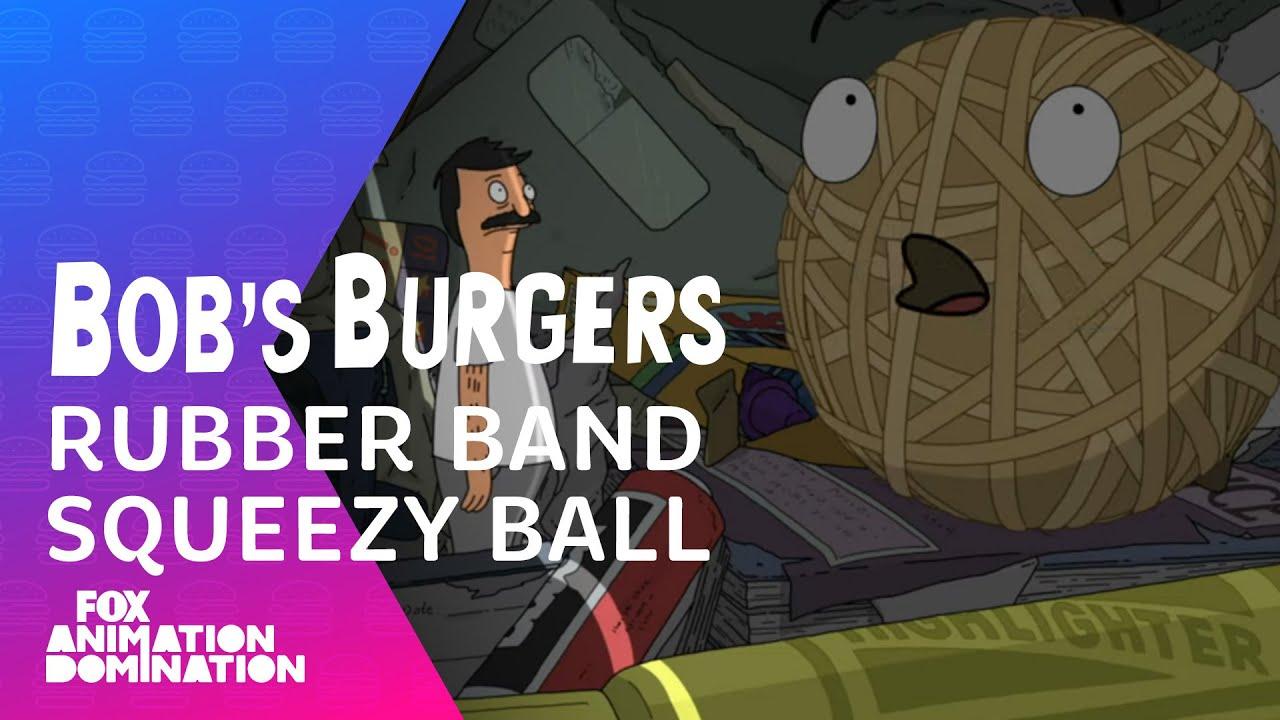 Bob Talks To Rubber Band Squeezy Ball | Season 11 Ep. 1 | BOB'S BURGERS