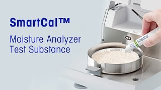 This video describes how to conveniently verify the overall performance of a moisture analyzer with SmartCal.