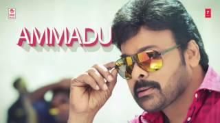 AMMADU Lets Do KUMMUDU  Full Song With Lyrics _ Khaidi No 150 _ Chiranjeevi Kajal _ DSP