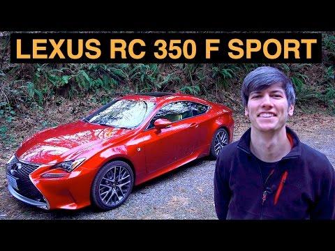 2015 Lexus RC 350 - Review & Test Drive - F Sport