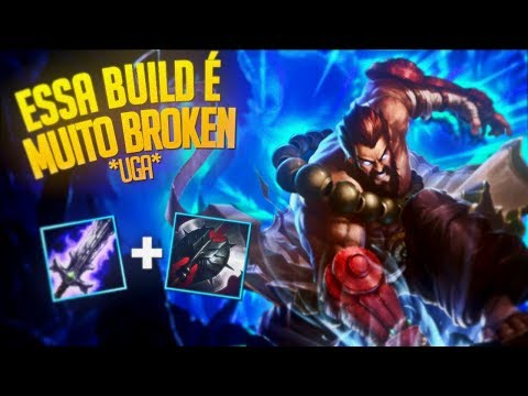 ESSA NOVA BUILD DO UDYR É MUITO BROKEN *UGA* - UDYR RANKED STREAM HIGHLIGHT
