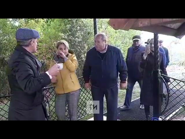 В селе Среднее Девятово Лаишевского района открыли родник