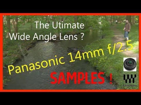 Panasonic 14mm f/2.5 for MFT on Z CAM E1
