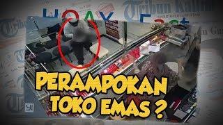 Hoax or Fact: Viral Video Perampokan Toko Emas Athira Siantar, Pelaku Bawa Shotgun