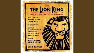 """They Live In You (From """"The Lion King""""/Original Broadway Cast Recording)"""