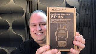 The YAESU FT-4X  is a Great 1st Ham Radio