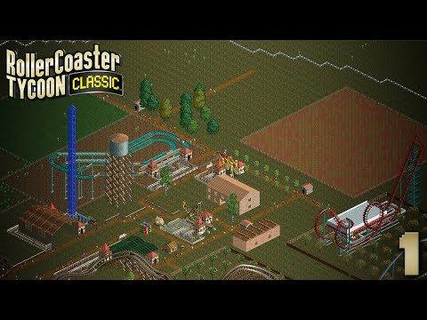 RollerCoaster Tycoon Classic | Episode 1 | Retour aux sources | FR