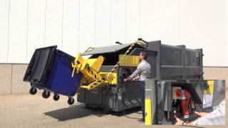 How to operate a waste compactor V3