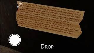 Granny перевод записки (самостоятельный)