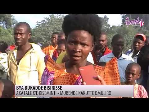 Omuliro gusaanyizaawo akatale ka Kisementi Daily Market e Mubende