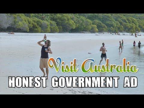 Honest Government Ad | Visit Australia!