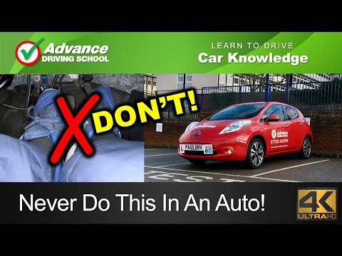 Never Do This In An Automatic Car!     Learn to drive: Car knowledge