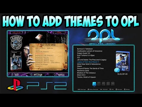 PS2] HOW TO ADD THEMES TO OPL [2018] - Week Techniques