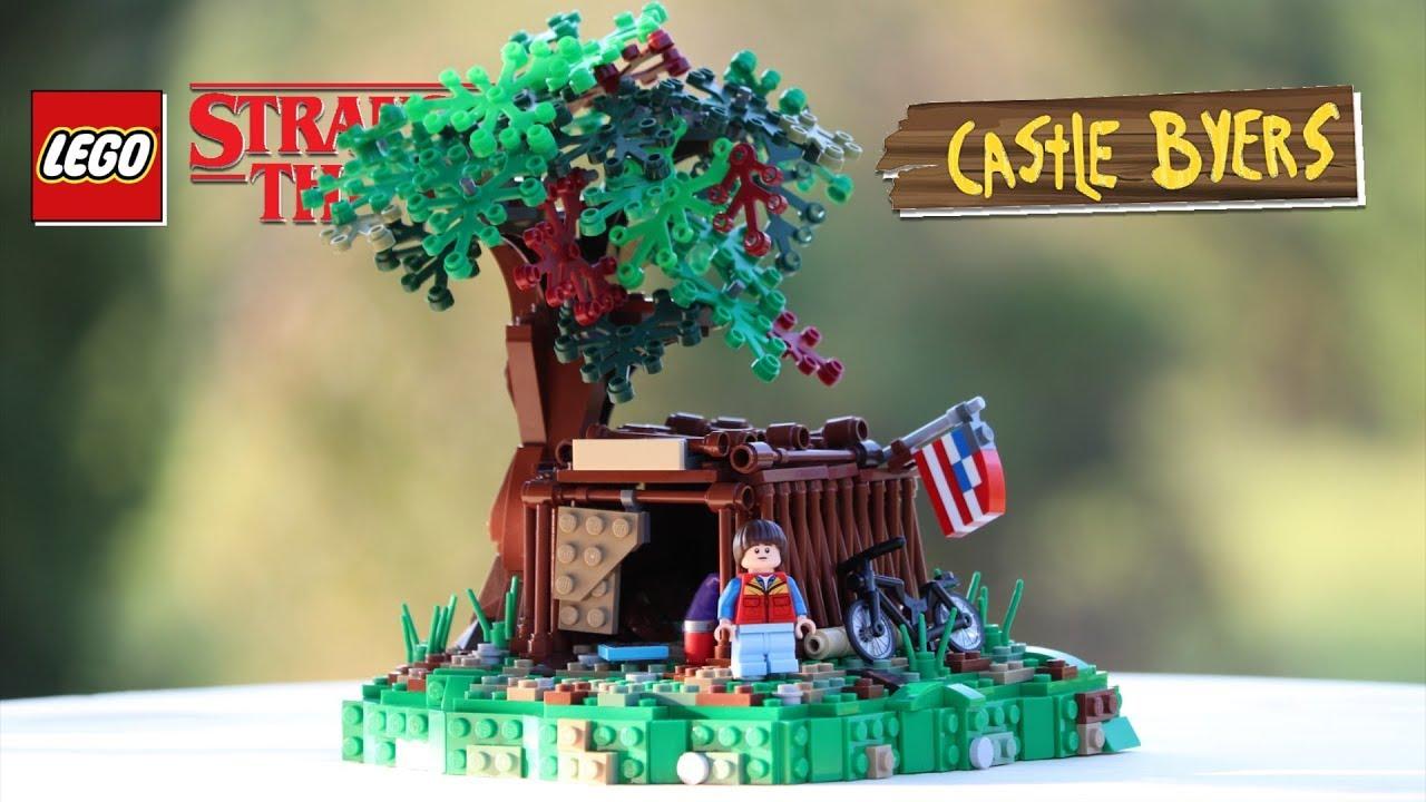 LEGO Castle Byers From STRANGER THINGS! // Custom LEGO MOC